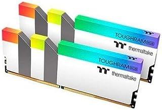 Thermaltake Kit Barrettes mémoire 16Go (2x8Go) DIMM DDR4 ToughRam RGB PC4 25600 (3200 MHz) (Weiß)