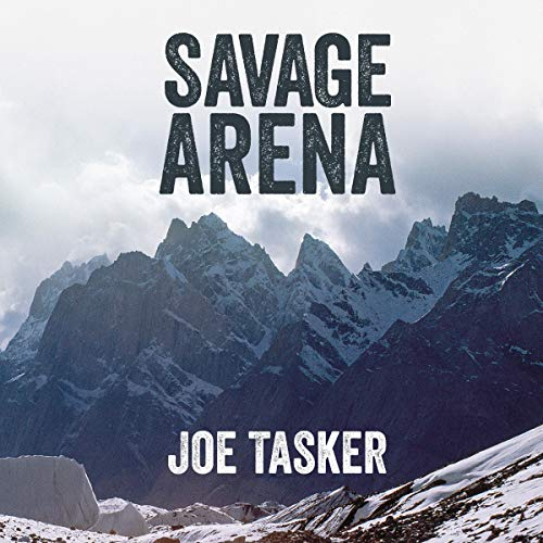 Savage Arena audiobook cover art