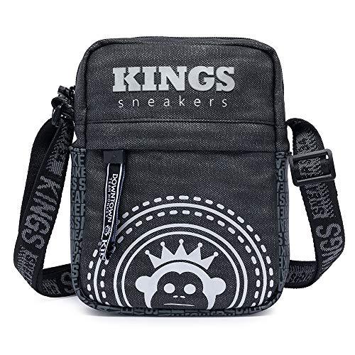 Shoulder Bag Bolsa Transvesal Kings Sneakers Moderno