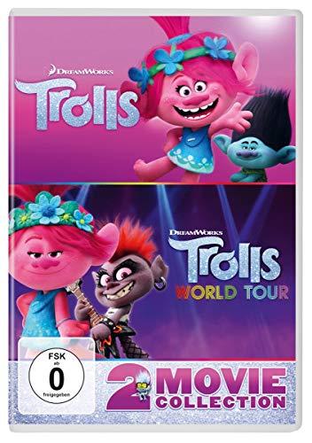 Trolls / Trolls World Tour - 2 Movie Collection [2 DVDs]
