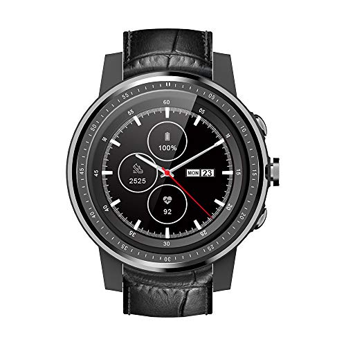 COOLHILLS Ceramic Bezel Smart Watch, 3G Smartwatch with SIM Card Slot GPS,Ultra-Long Battery Life,IP67 Waterproof Wrist Watch with Heart Rate Sleep Monitor Activity Tracker for Women,Men,Android,iOS.