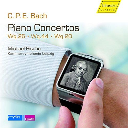 Cpe Bach: Piano Concertos Vol.IV
