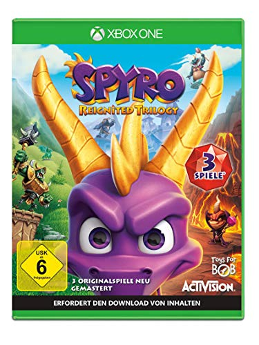 Spyro Reignited Trilogy - [Xbox One] (Versione Tedesca)