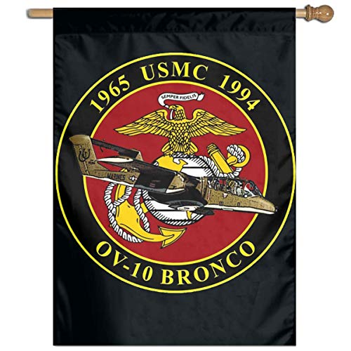 Xhayo Drapeaux USMC OV-10 Bronco Commemorative Garden Flag Banner for House Yard Decoration Family Flag 27\
