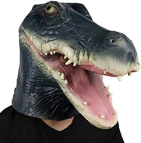 Waylike trend rank Crocodile Mask Halloween Costume Bombing new work Masks Animal Party
