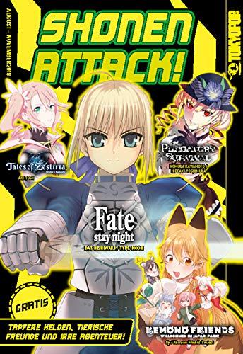 Shonen Attack Magazin #6: August bis November 2018 (German Edition)