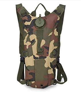 Echoss Hydration Pack Water Backpack Camel Pouch Tactical Camouflage Bag with 3L Hydration Bladder Great for Hiking Hunting Running Climbing Cycling Camping Outdoor Sport Activities