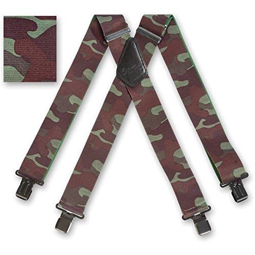 Brimarc Bretelles pour homme design robuste Motif camouflage 5,1 cm x 50 mm