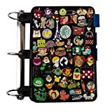 Enamel Pin Display Pages (1 PK) - Display and Trade Your Disney Collectible Pins in Any 3-Ring Binder - Pages Lay Flat with Pinbacks and NO Sagging! (Black - Pins Not Included)