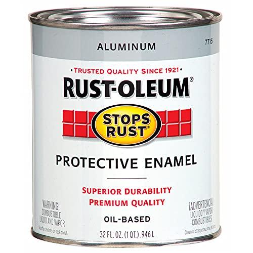 Rust-Oleum 7715502 Stops Rust Gloss Brush On Paint,...