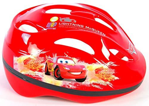Cars Lightning McQueen Kinder Fahrrad-Helm Deluxe Gr. 51-55 cm