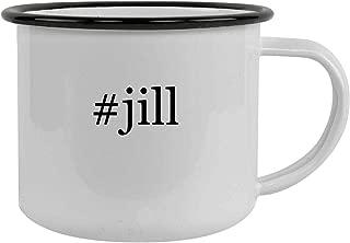 #jill - 12oz Hashtag Stainless Steel Camping Mug, Black