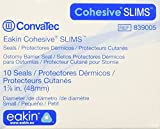 Eakin Cohesive Slim Ostomy Barrier Seals, 2 Inch Diameter, Box of 10