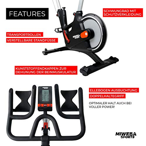 Ergometer Heimtrainer Fahrrad + App-Steuerung kaufen  Bild 1*