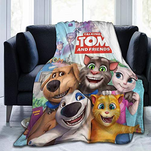 Floating Dream1 Tal-King Blanket T-Om and Fri-Ends 3D Digital Printed Throw Blanket Ultra-Soft Micro Fleece Blanket for Home Bed Sofa & Dorm All Season Bed Blanket 50'' X40