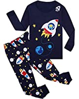 Tkala Boys Pajamas Summer Outfits Clothes Shorts Set Pjs Dinosaur 100% Cotton Little Kids Sleepwear 1-12 Years