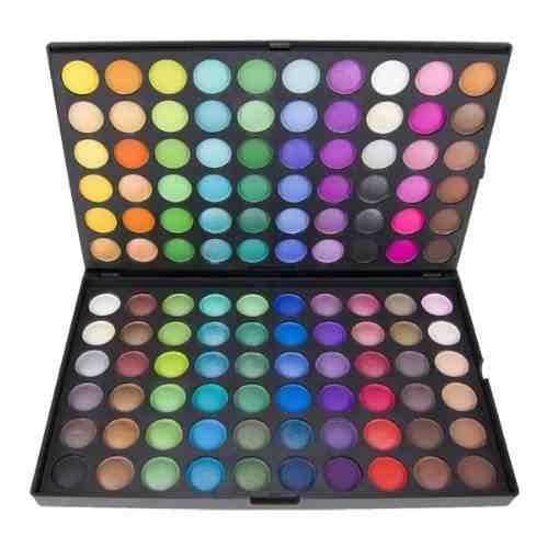 120 Palette de fards à paupières. Kit complet pour le maquillage des yeux, Palette professionnelle by DELIAWINTERFEL