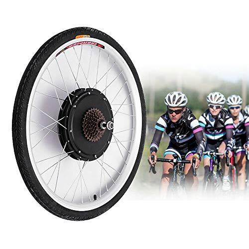 SHZICMY Kit de conversión eléctrica para bicicleta eléctrica de 26 pulgadas con un cable de freno, cable de alimentación y rueda trasera para reequipamiento de bicicleta eléctrica, motor de 36 V 500 W