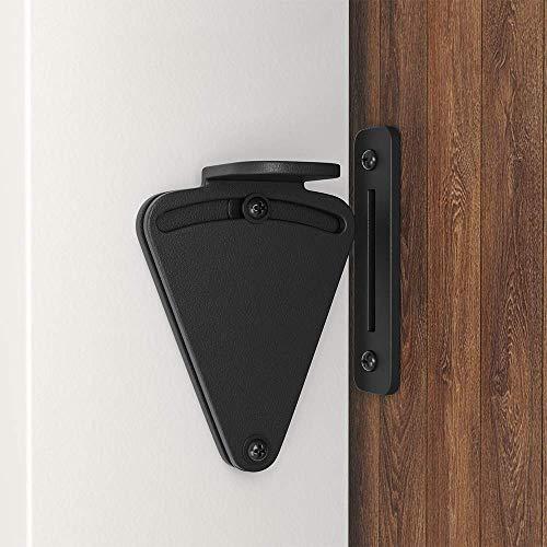 Product Image 3: WINSOON Barn Door Lock Hardware Black Steel Sliding Privacy Latch for Closet Shed Pocket Doors Wood Gates – Black