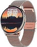 l b s Reloj inteligente Señora Reloj Inteligente Rastreador de...