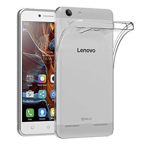 AICEK Funda Lenovo K5/K5 Plus, Lenovo Vibe K5/K5 Plus Funda Transparente Gel Silicona Lenovo Vibe K5/K5 Plus Premium Carcasa para Lenovo K5/K5 Plus