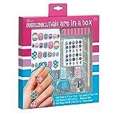 3C4G Three Cheers For Girls Nail Polish Nail Art Kit in a Box (Sugar Shack)