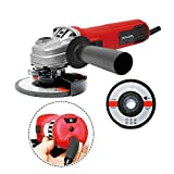 Toolman Variable Speed Angle Grinder 4-1/2' 6.8A for Heavy Duty DB6816