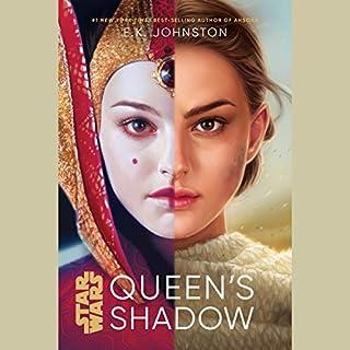 Star Wars: Queen's Shadow audiobook cover art