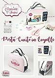 Bauletto Porta Cucito: Tutorial per realizzare una borsetta con manici e cerniera (I Tutorial di Emanuela Tonioni)