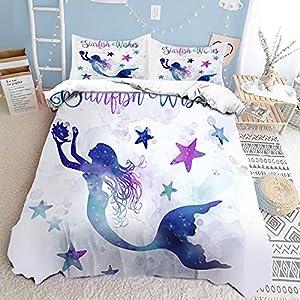 51BTQA4qbsL._SS300_ Mermaid Bedding Sets & Comforter Sets