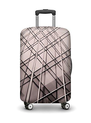VELOSOCK Copertura per Bagagli HANCOCK - mantiene la Valigia da Viaggio Pulita e Protetta - PER TUTTI I BAGAGLI MEDI (60-72 cm di altezza)