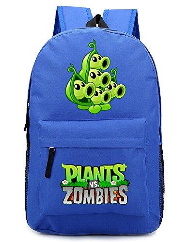 Siawasey Cute Plants Zombie Hot Game Bookbag Mochila School Shoulder Bag (18 estilos)