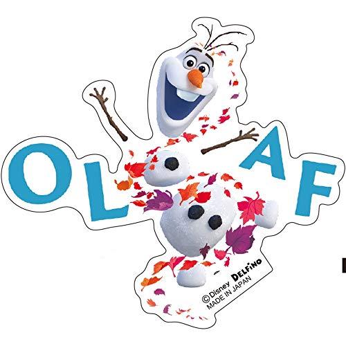 デルフィーノ ディズニー ステッカー アナと雪の女王2 オラフ/ロゴ DZ-80996