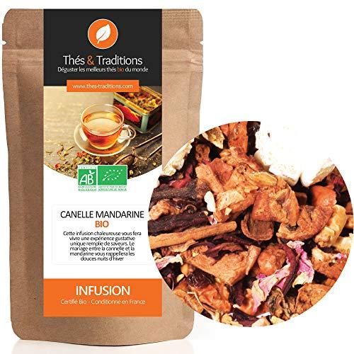 Thés & Traditions - La infusión de canela - bio mandarina   100g