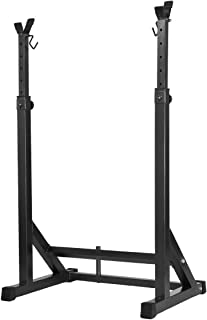 Genki Adjustable Squat Rack Home Gym Fitness Exercise Weight Lifting Barbell Stand