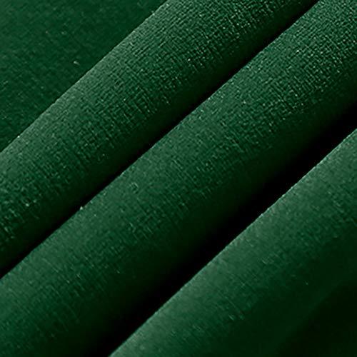 MUYUNXI Samtstoff,weich Und Elegant,Möbelstoff, Polsterstoff Möbel Sitzbezug Stoff,155 cm Breit,Verkauft Ab 0,5m(Color:Dunkelgrün)