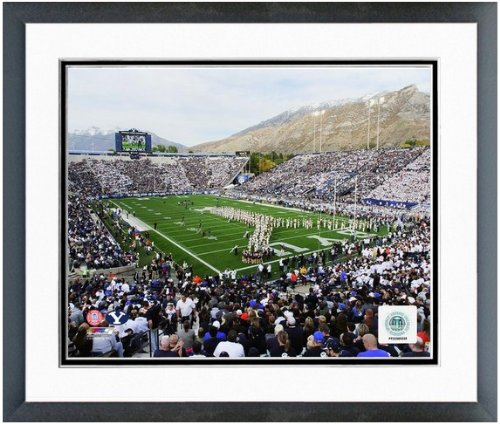 BYU Cougars NCAA Framed 8x10 Photograph Brigham Young University Team Logo