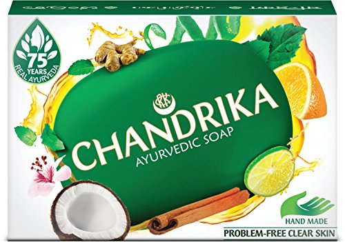 Chandrika Herbal Ayurvedic Soap 70 g