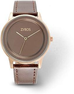 Zyros Dress Watch for Men, Quartz, Z9018M100707