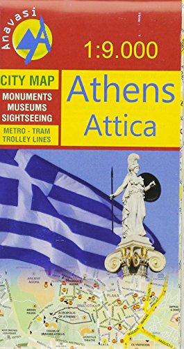 Stadtplan Athens