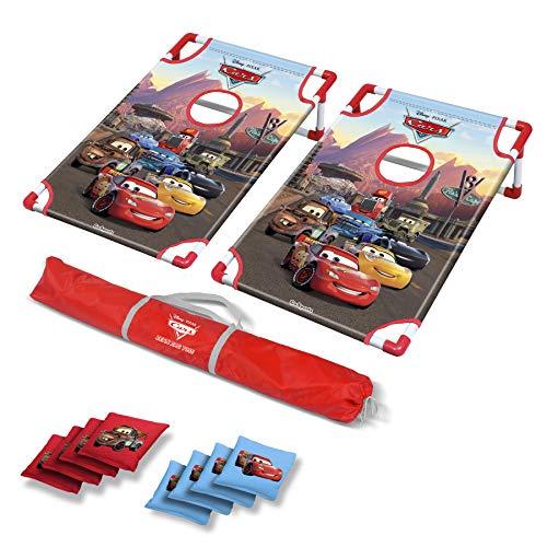 GoSports Disney Pixar Cars Bean Bag Toss Game Set Includes 8 Bean Bags with Portable Carrying Case