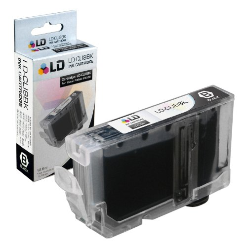 LD Compatible Ink Cartridge Replacement for Canon CLI8BK 0620B002 (Black)