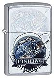 Zippo Feuerzeug BASS Fishing Design