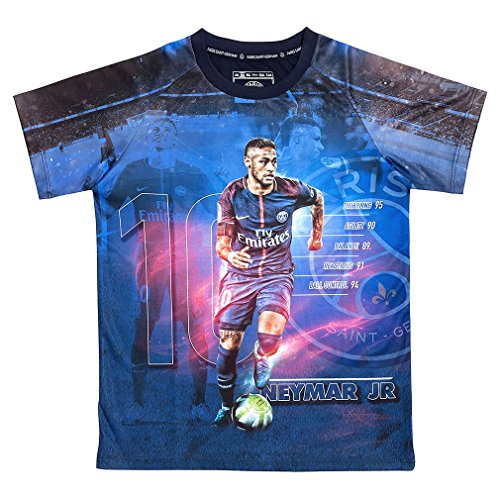 PSG - Official Paris Saint-Germain 'Neymar Jr' Kids Football Jersey - Blue (12 Years)