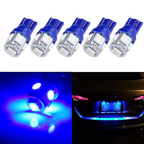 cciyu 194 Extremely Bright LED Bulbs T10-5-5050-SMD Light Lamp License Plate...