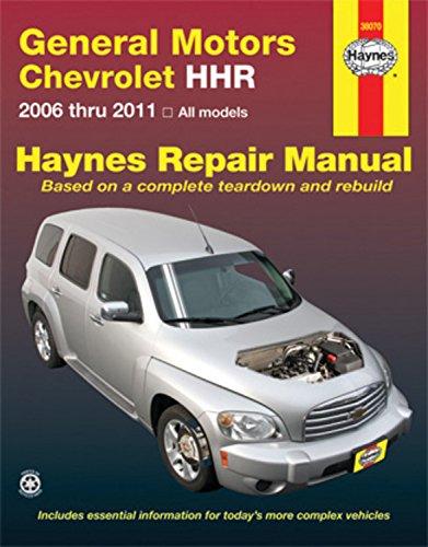 GM Chevrolet HHR,  2006-2011 Repair Manual (Haynes Repair Manual)