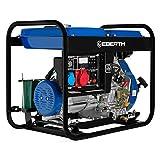 EBERTH 5000 Watt Diesel Stromerz...