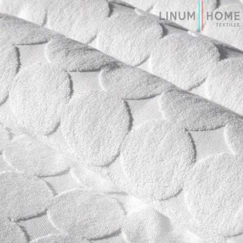 Linum Home Textiles Circle Design Bath Mats, Set of 2