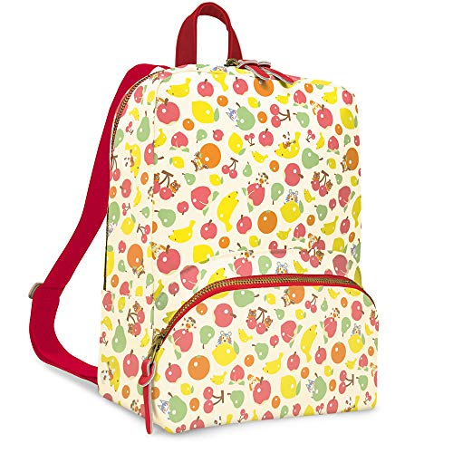 Controller Gear Animal Crossing: New Horizons - Fruit Pattern - Small Backpack for Women, Girl's Cute Mini Bookbag Purse, Travel Bag for Nintendo Switch Console & Accessories - Nintendo Switch
