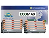 10PK ECOMAX New TN-660 TN660 Compatible Black HIGH Yield Toner Cartridge for Brother DCP-L2520DW, HL-L2380DW, HL-L2360DW, HL-L2320D, MFC-L2720DW, MFC-L2740DW